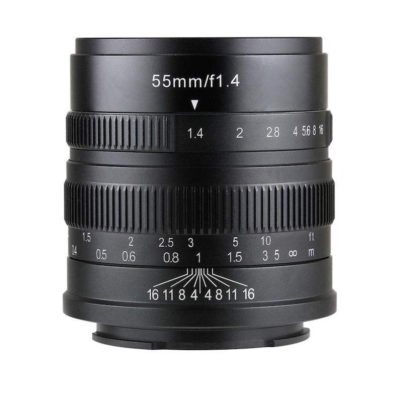 七工匠 55mm F1.4 ライカLマウント